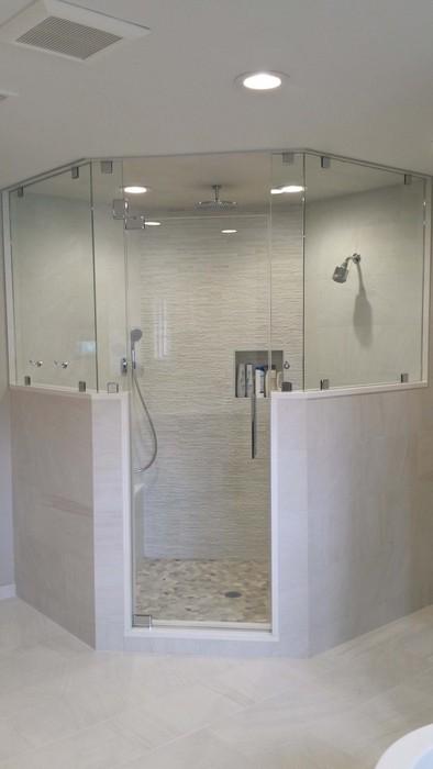 Neo Angle Shower Enclosure Custom Glass Shower Doors